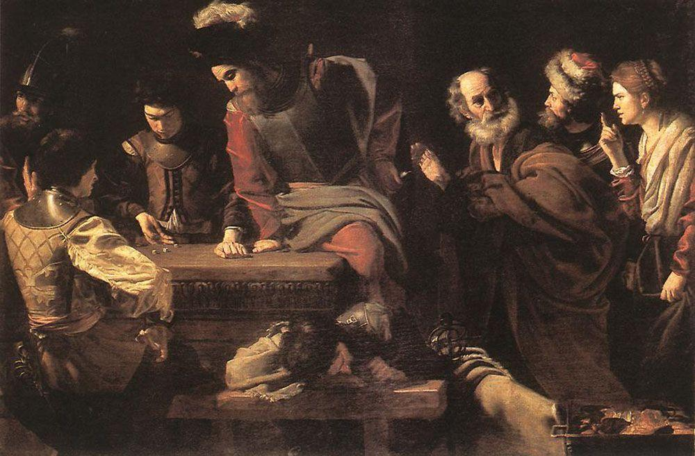 The Denial of St. Peter - Nicolas Tournier
