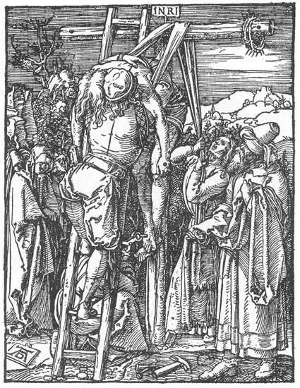 The Descent from the Cross - Albrecht Durer