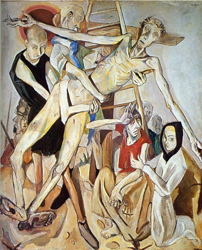 The Descent from the Cross - Max Beckmann