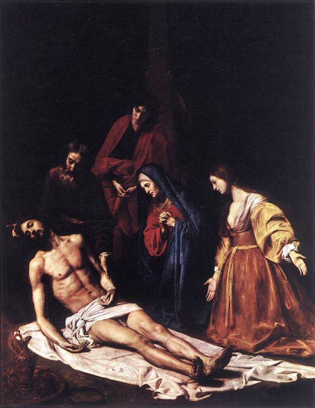 The Descent from the Cross - Nicolas Tournier