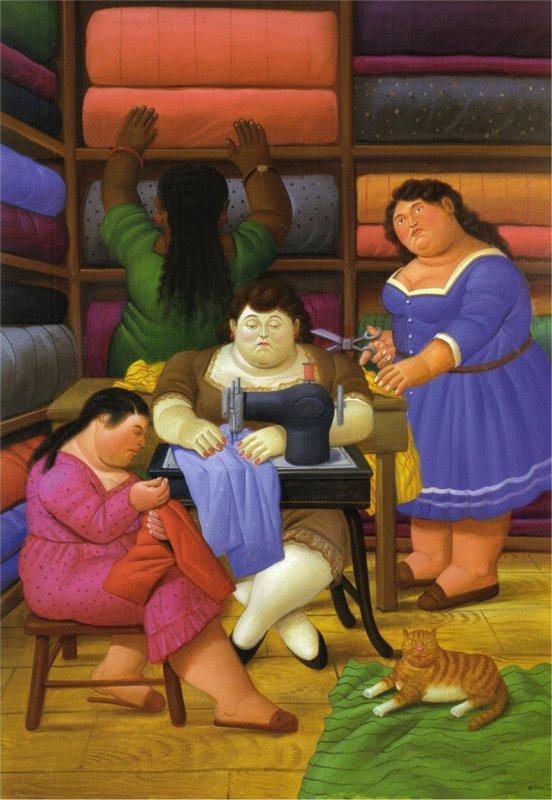 The Designers - Fernando Botero