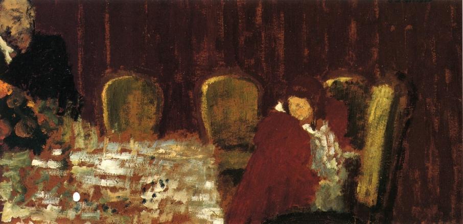 The Dining Room - Edouard Vuillard