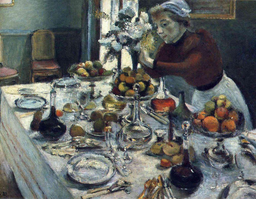 The Dinner Table  - Henri Matisse