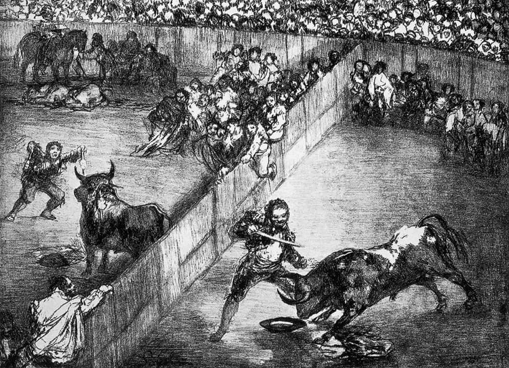 The Divided Arena - Francisco Goya