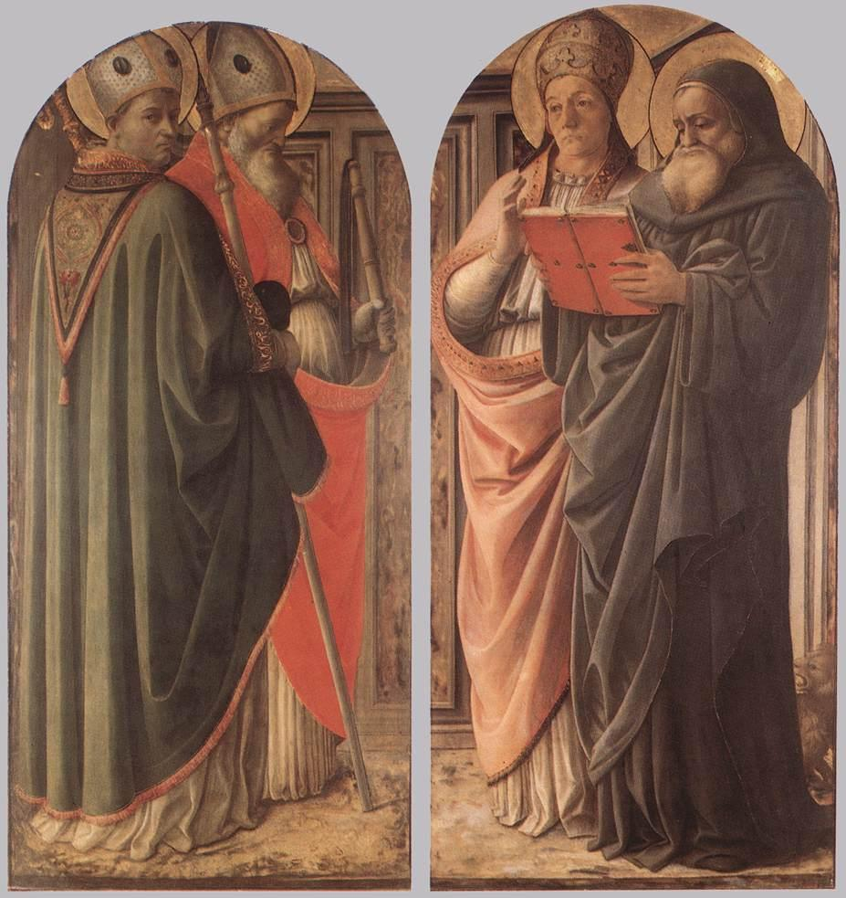 The Doctors of the Church - Filippo Lippi