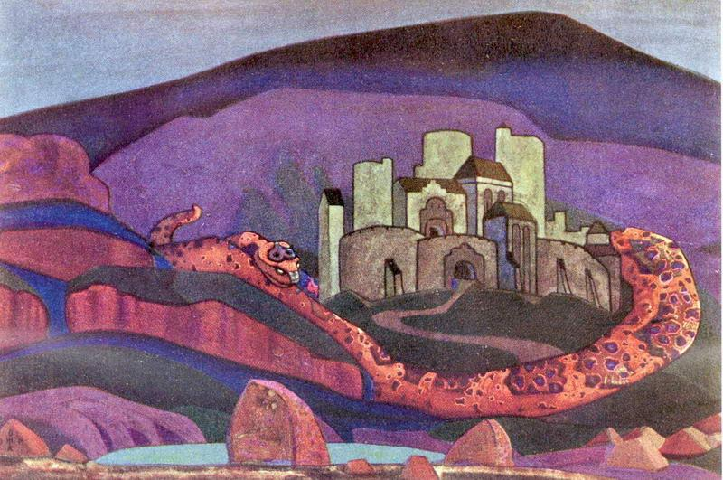 The Doomed City - Nicholas Roerich