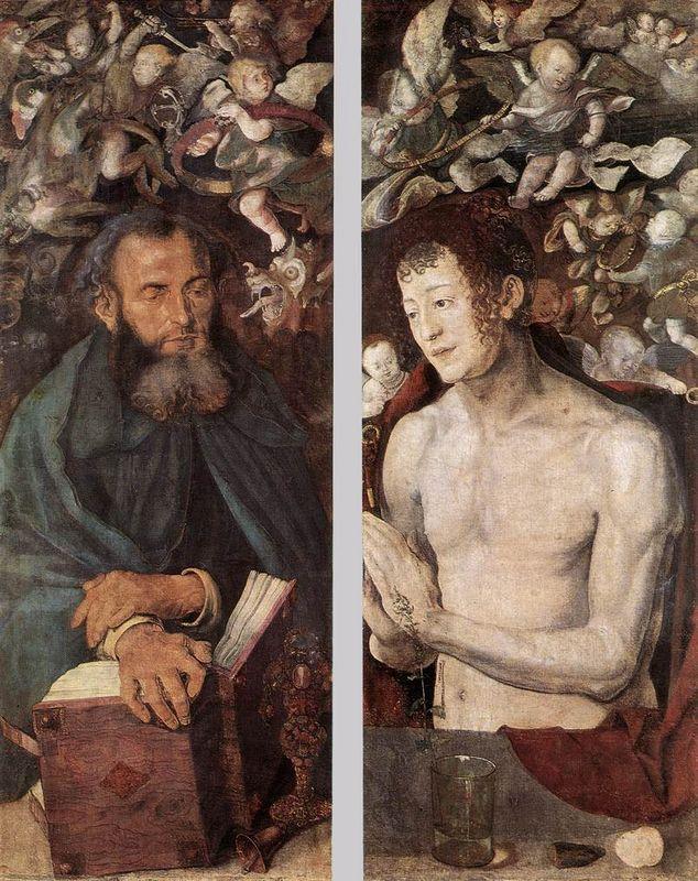 The Dresden Altarpiece (side wings) - Albrecht Durer