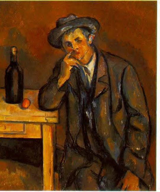 The Drinker  - Paul Cezanne