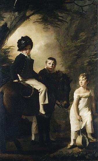 The Drummond Children - Henry Raeburn