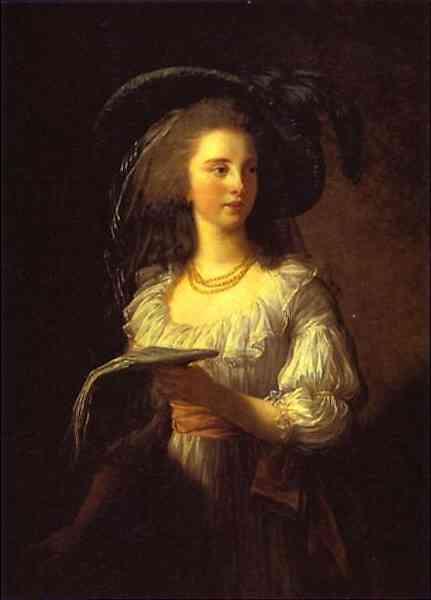 The Duchess de Polignac - Louise Elisabeth Vigee Le Brun