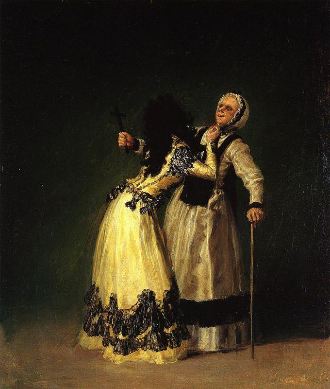 The Duchess of Alba and Her Duenna - Francisco Goya