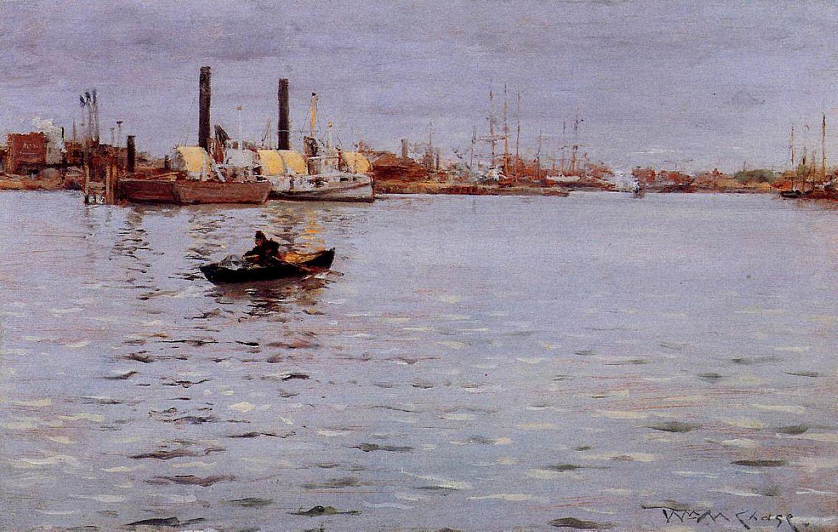 The East River - William Merritt Chase
