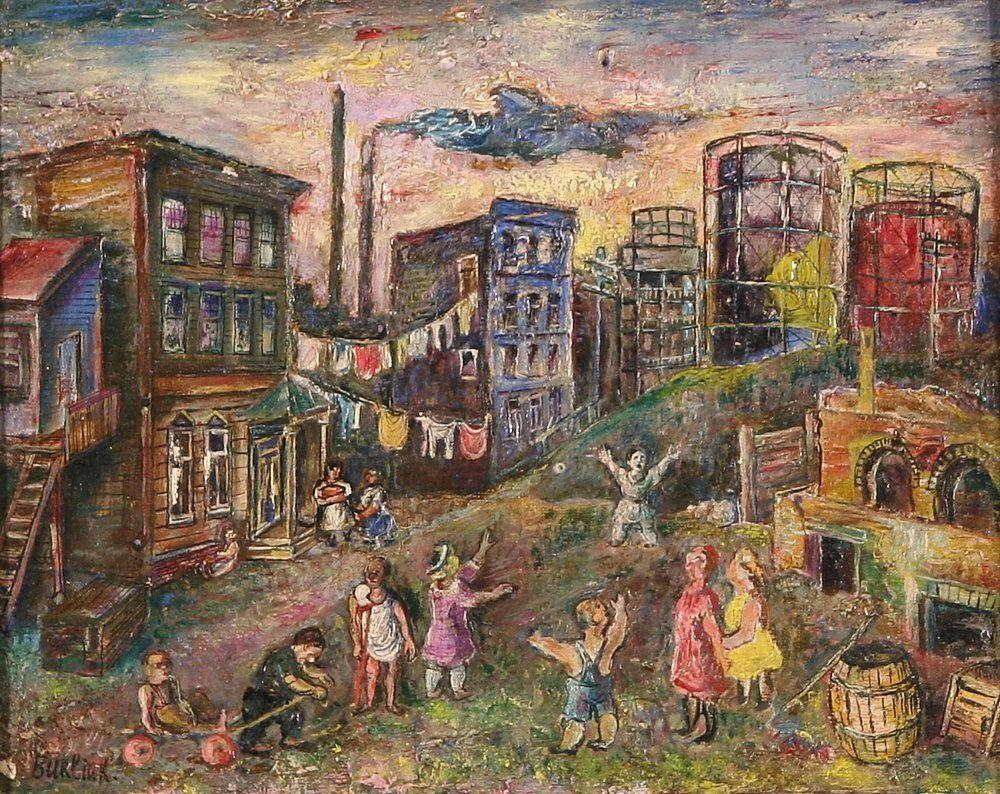 The edge of city (Bronx) - David Burliuk