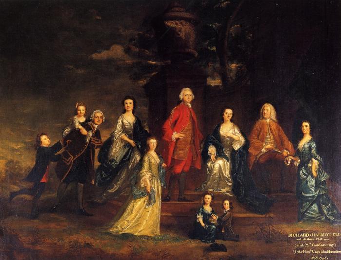 The Eliot Family - Joshua Reynolds