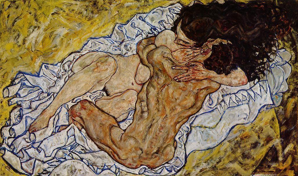 The Embrace - Egon Schiele