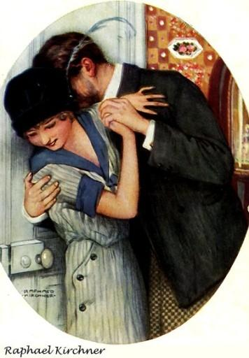 The Embrace - Raphael Kirchner