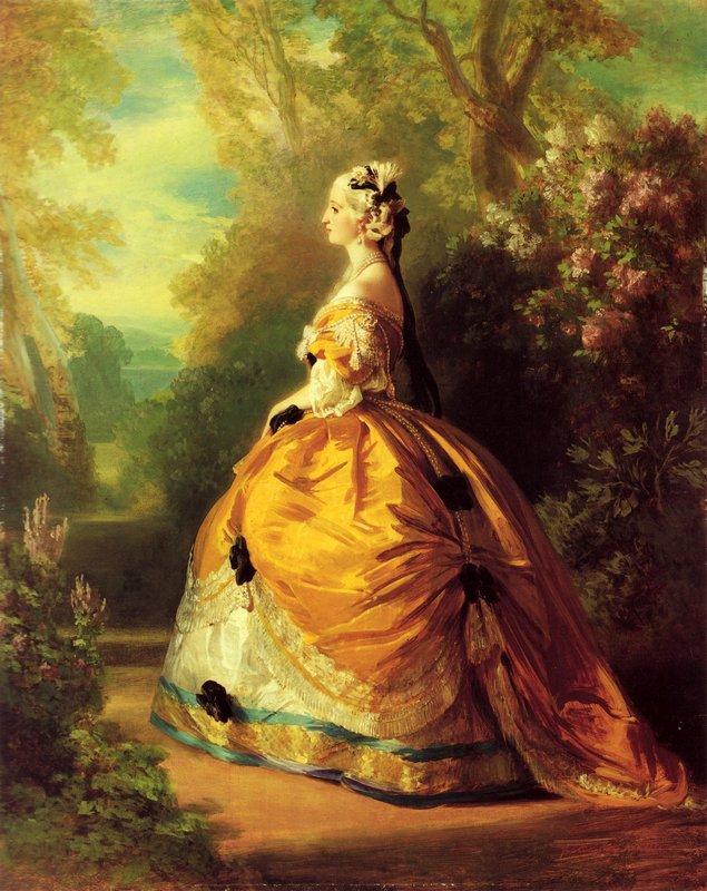 The Empress Eugenie - Franz Xaver Winterhalter