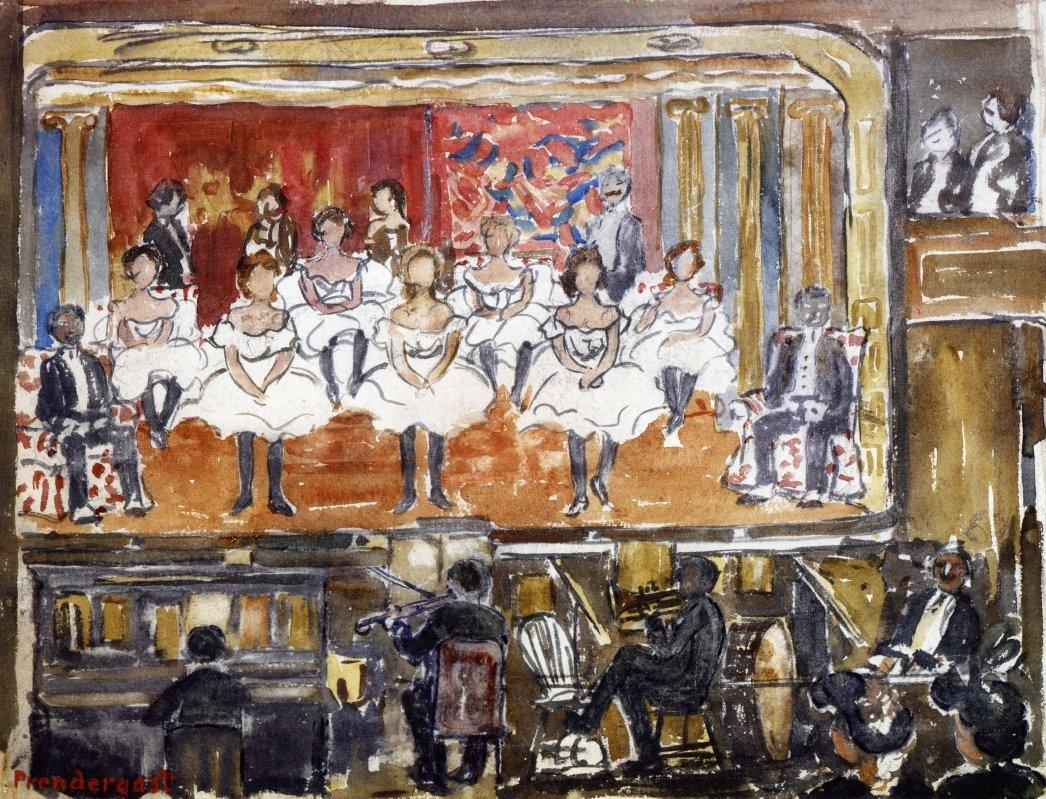 The End Men - Maurice Prendergast