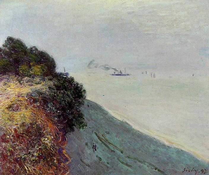 The English Coast, Penarth - Alfred Sisley