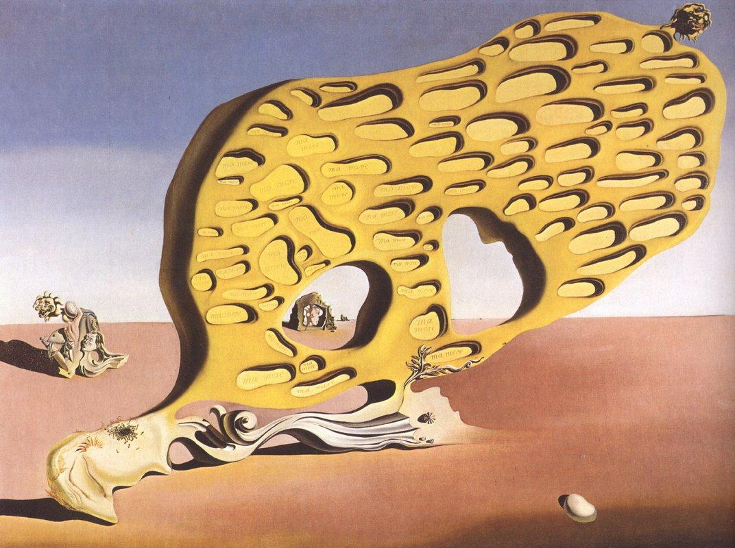 The Enigma of My Desire or My Mother, My Mother, My Mother - Salvador Dali
