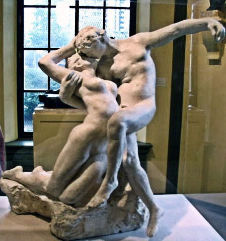 The Eternal Spring Kiss - Auguste Rodin