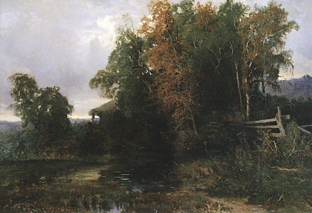 The Evening before the Storm - Fyodor Vasilyev
