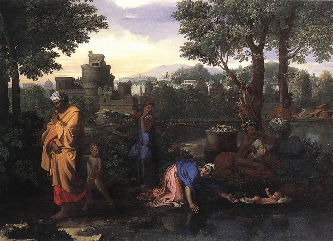 The Exposition of Moses - Nicolas Poussin