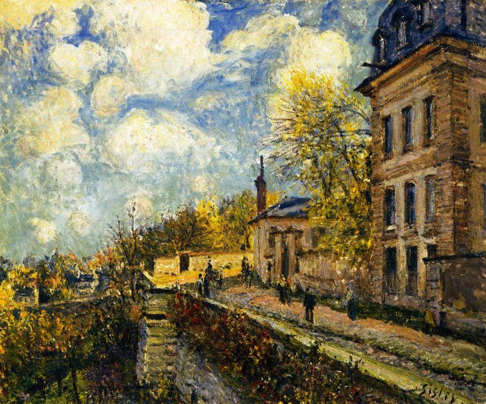 The Factory at Sevres - Alfred Sisley