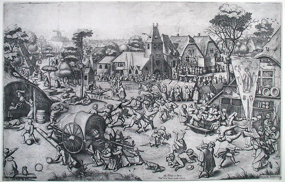 The Fair on St. George's Day - Pieter Bruegel the Elder