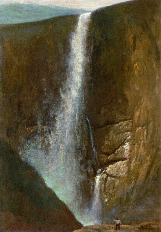 The Falls - Albert Bierstadt