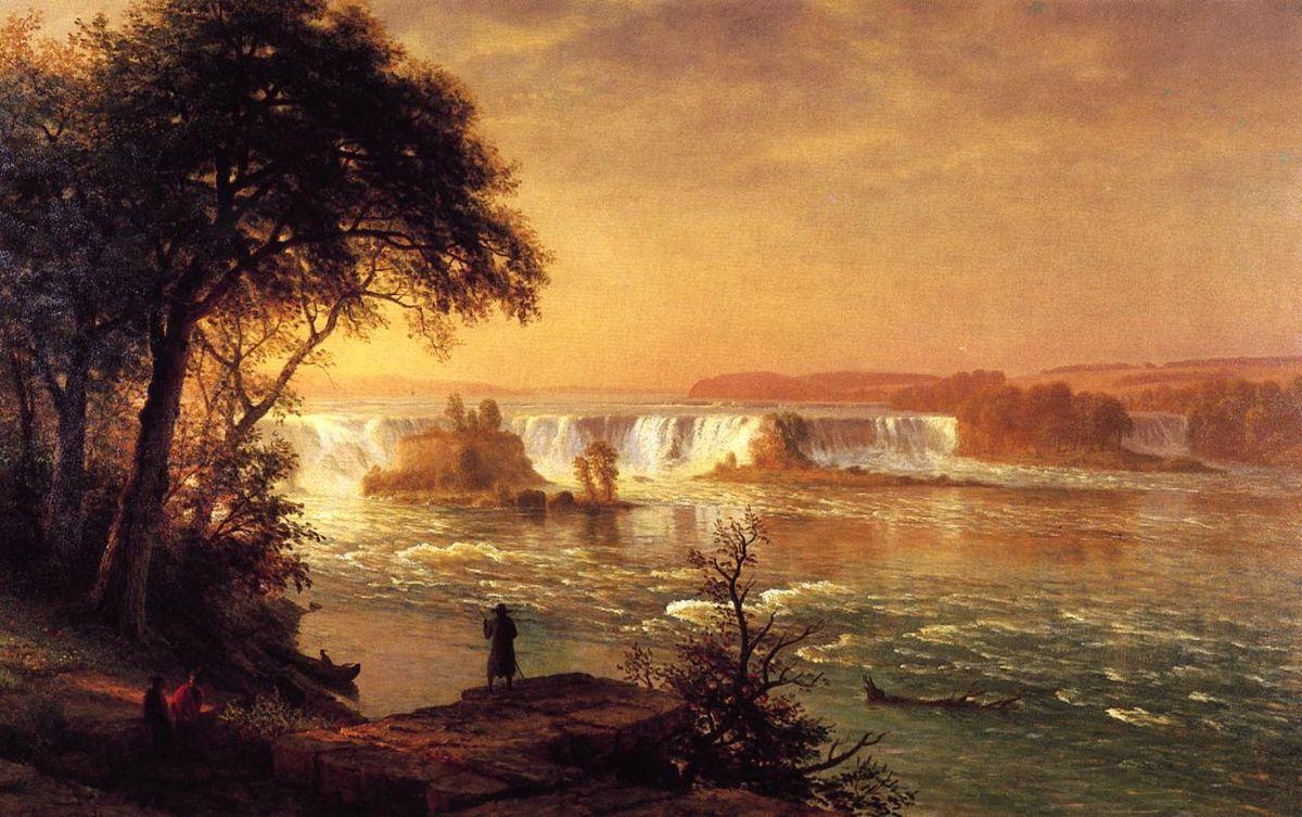 The Falls of St. Anthony - Albert Bierstadt