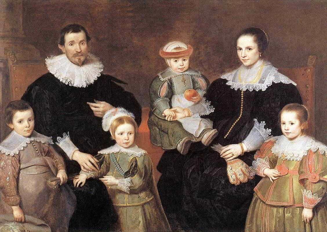 The Family of the Artist - Cornelis de Vos