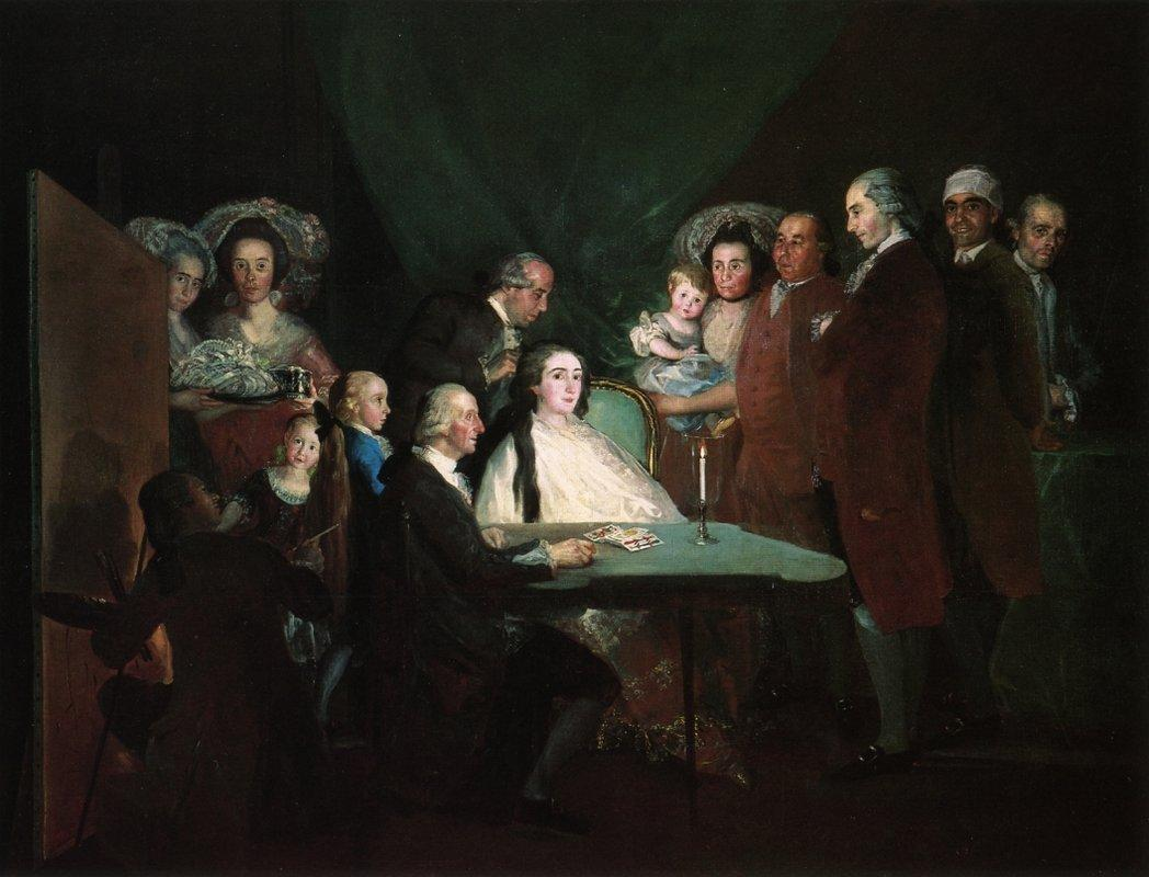 The Family of the Infante Don Luis - Francisco Goya
