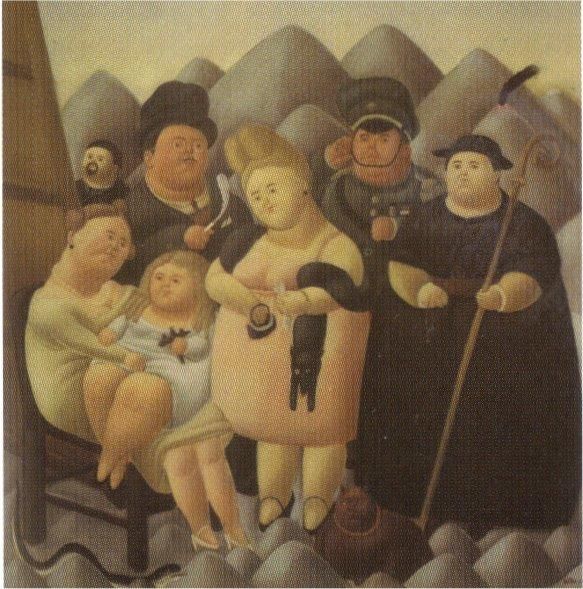 The Family of the President - Fernando Botero