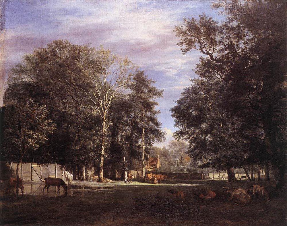 The Farm - Adriaen van de Velde