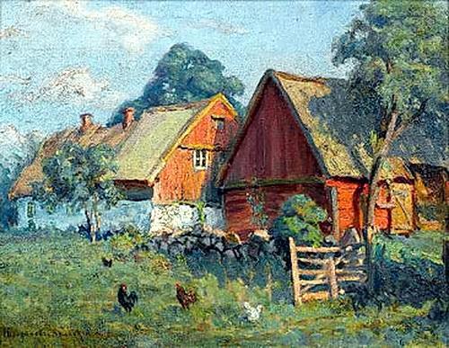 The Farm - Nikolay Bogdanov-Belsky
