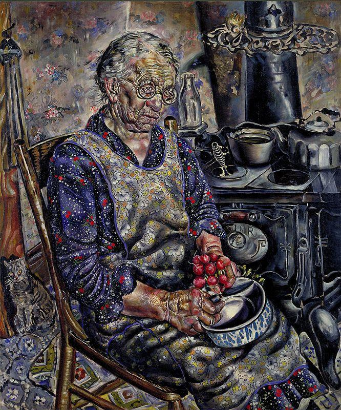The Farmer's kitchen - Ivan Albright