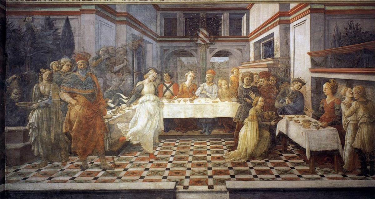 The Feast of Herod: Salome's Dance  - Filippo Lippi