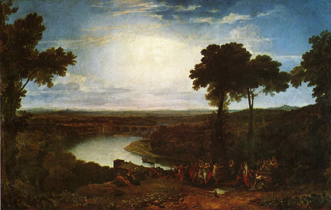 The Festival of the Opening of the Vintage, Macon  - William Turner