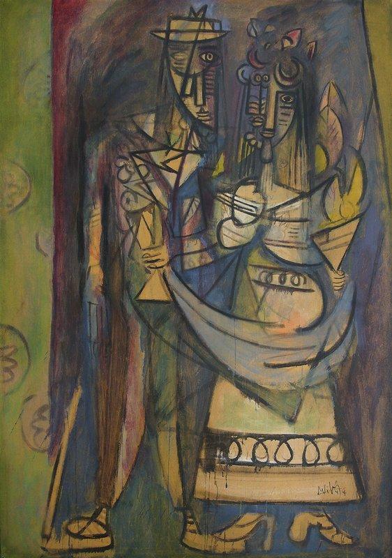 Wifredo Lam Famous Paintings Jungle
