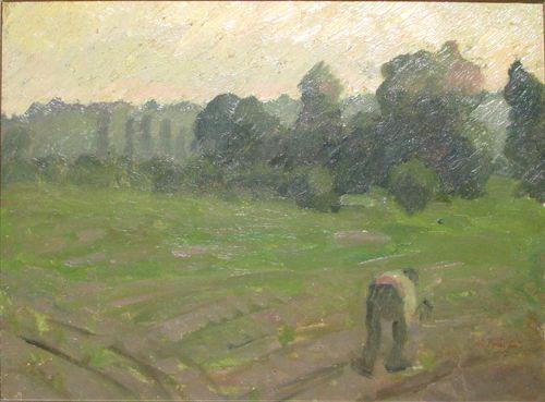 The field - Nicolae Tonitza