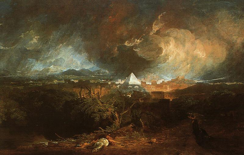 The Fifth Plague of Egypt - William Turner