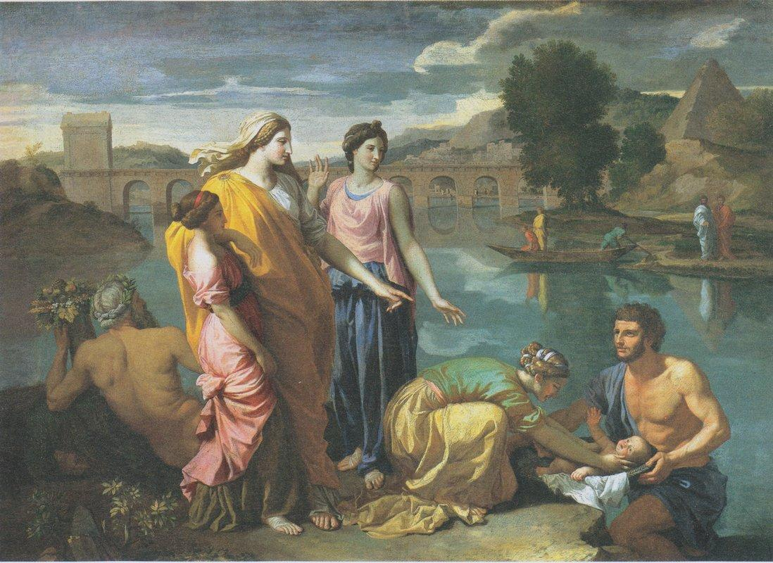 The Finding of Moses - Nicolas Poussin