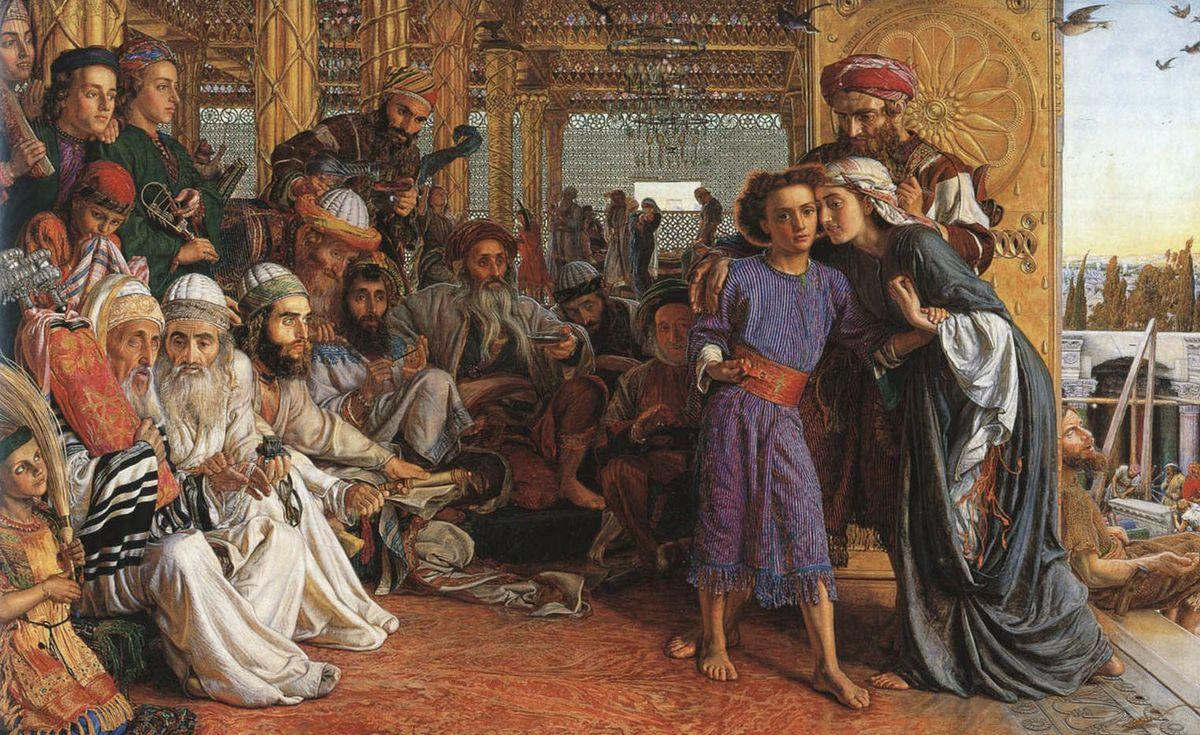 The Finding of the Saviour in the Temple - William Holman Hunt