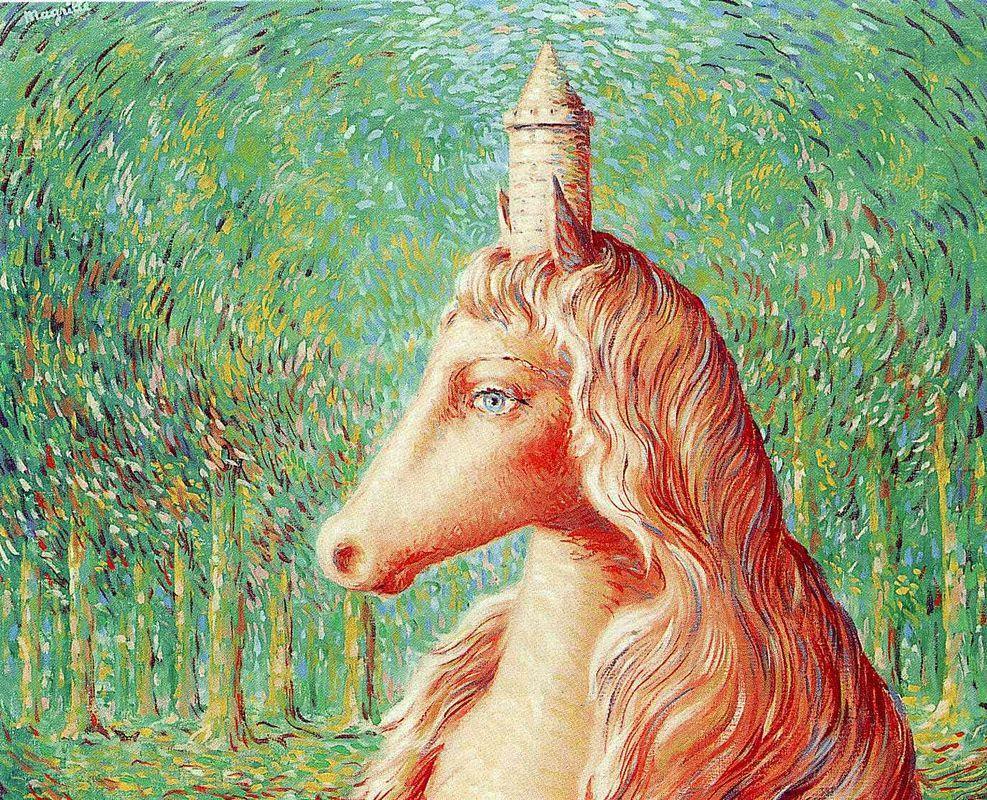 The fine idea - Rene Magritte