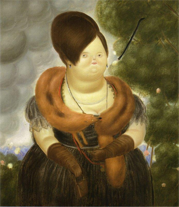 The First Lady - Fernando Botero