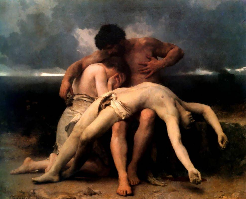 The First Mourning - William-Adolphe Bouguereau