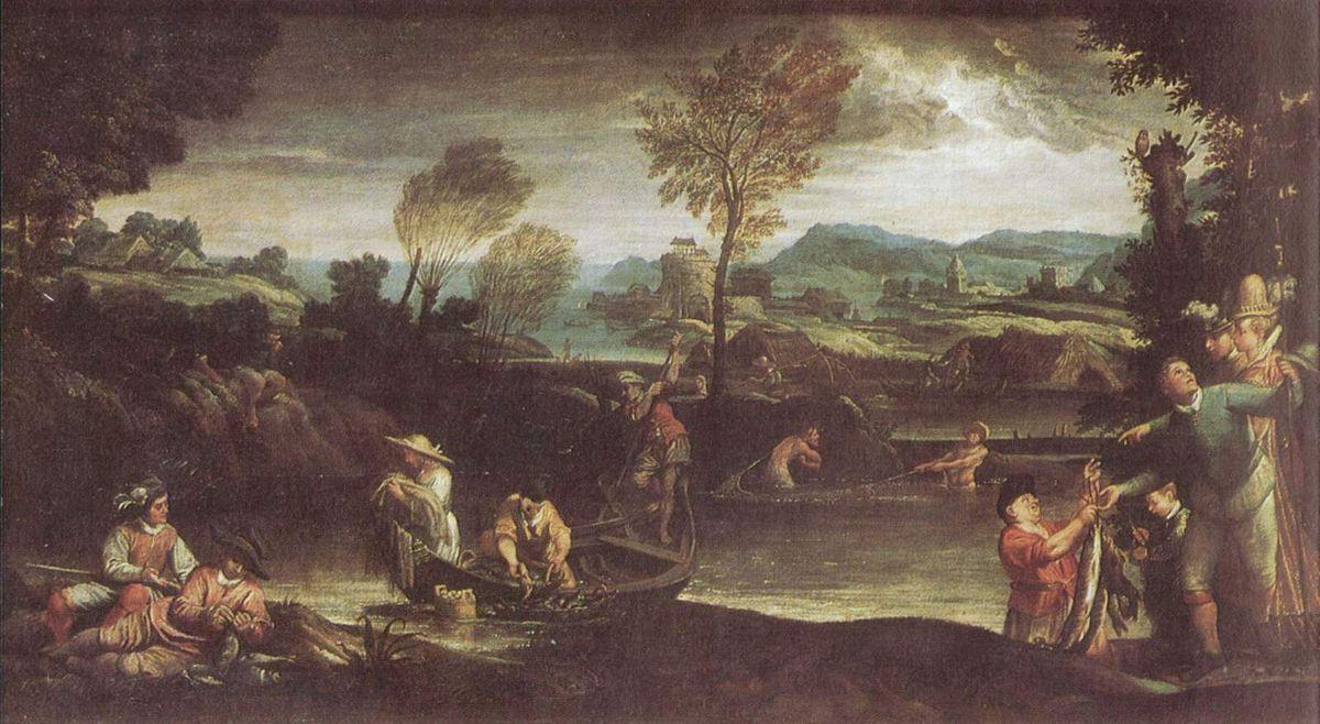 The fishing - Annibale Carracci