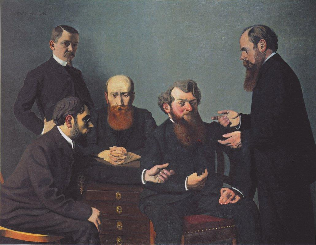 The Five Painters: Bonnard, Vuillard, Roussel, Cottet and Vallotton - Felix Vallotton