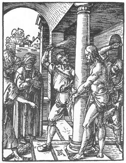 The Flagellation - Albrecht Durer